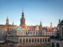 deutschland Altes Dresden Zwinger Stockfotografie