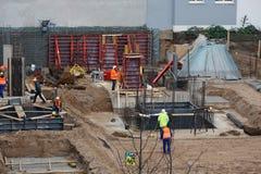 Deutschland - Bauboom Stockfoto