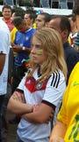 Deutschland-Fan stockfotografie