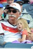 Deutschland-Fans Lizenzfreie Stockfotografie