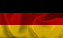 Deutschland , germany flag Royalty Free Stock Images