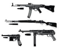 Deutschland-Gewehren lizenzfreie stockbilder