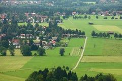 Deutschland-Kleinstadt Lizenzfreie Stockbilder