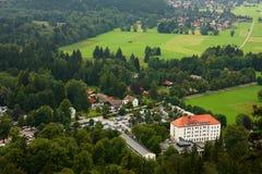 Deutschland-Kleinstadt Stockfoto