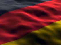 Deutschland-Markierungsfahne Lizenzfreie Stockbilder
