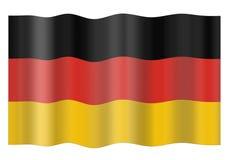 Deutschland-Markierungsfahne Lizenzfreies Stockfoto