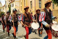 Deutschland - mittelalterliches Festival Lizenzfreie Stockbilder