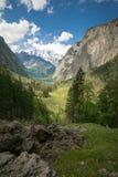 Deutschland-` s höchster Wasserfall in schönem berchtesgaden Land Stockfotos