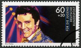 DEUTSCHLAND - 1988: Shows Elvis Presley (1935-1977), Reihe Rockstars Stockfotografie