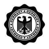 Deutschland-Stempel mit Adler vektor abbildung
