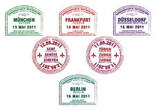 Deutschland und die Schweiz Lizenzfreie Stockbilder