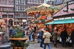 Deutschland-Weihnachtsmarkt Stockfoto
