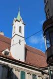 Deutschordenskirche - Wien - Österrike Arkivbild