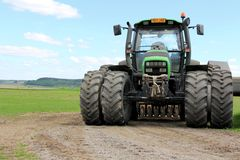 Deutz-Fahr Agrotron 130 Tractor Stock Photo