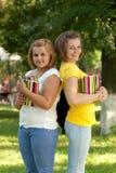 Deux étudiants Photographie stock