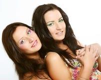 Deux amie souriant ensemble Photographie stock