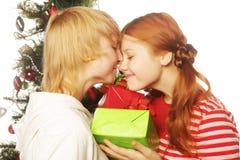 Deux amie Vacances de Noël Photo stock