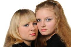 Deux amies Photographie stock