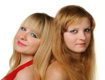 Deux amies Photos libres de droits