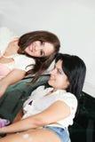 Deux amies Images stock
