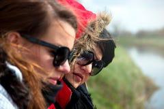 Deux amies de femme Image stock