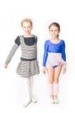 Deux amies de filles Photographie stock