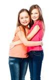 Deux amies de filles Photos stock