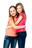 Deux amies de filles Photo libre de droits