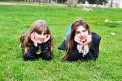 Deux amis Image libre de droits
