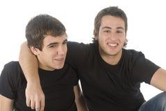 Deux amis Photo libre de droits