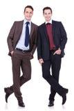 Deux amis d'affaires Photo stock
