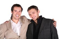 Deux amis ensemble Image stock
