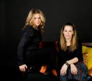 Deux amis féminins Photos stock