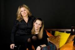 Deux amis féminins Photographie stock