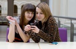 Deux amis féminins Photos libres de droits