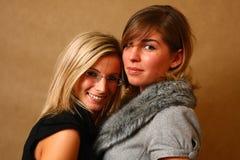 Deux amis féminins Images stock