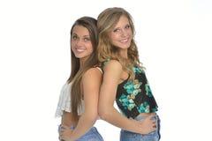 Deux amis féminins mignons Photographie stock libre de droits