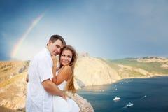 Deux amoureux Photos libres de droits