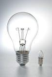 Deux ampoules images libres de droits