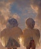 Deux anges Photographie stock libre de droits