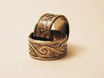 Deux anneaux Photo libre de droits