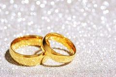 Deux anneaux Photos stock