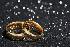 Deux anneaux Image stock