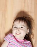 Deux ans de fille Photographie stock libre de droits