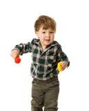 Deux ans de garçon Photo libre de droits