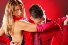 Deux au tango Photos libres de droits