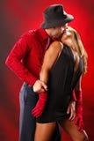 Deux au tango Photographie stock libre de droits