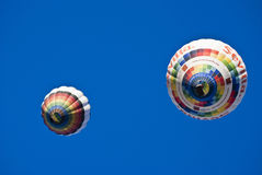 Deux ballons Photographie stock