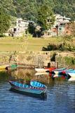 Deux bateaux Images stock