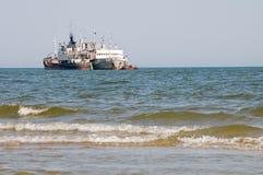 Deux bateaux photos stock